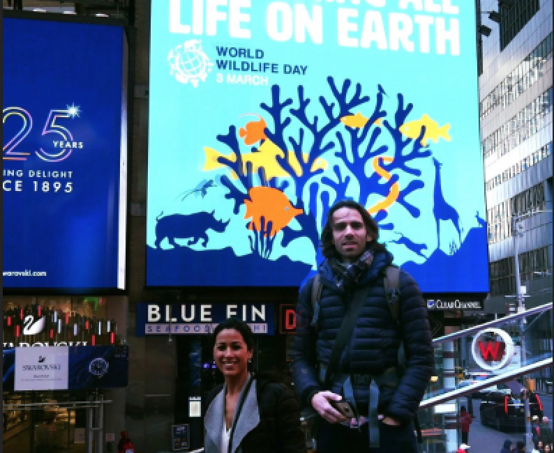 Celebrating the Honourable Mention during the World Wildlife Day in New York